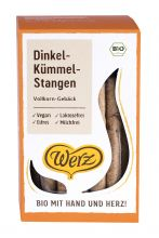 Dinkel-Kümmel-Stangen, Vollkorn-Gebäck