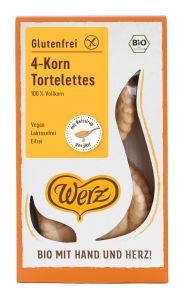 4-Korn Tortelettes, Vollkorngebäck