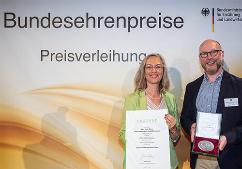 Bundesehrenpreis Urkunde