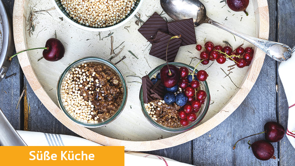 Buchweizen Flocken Porridge